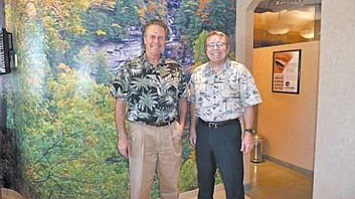 Dr. Charles Henry and Dr. John Upton