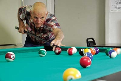 With a full-sized pool table, computers and daily activities such as cards, scrabble, bingo and dominoes, there are plenty of fun things to do at the Camp Verde Senior Center.