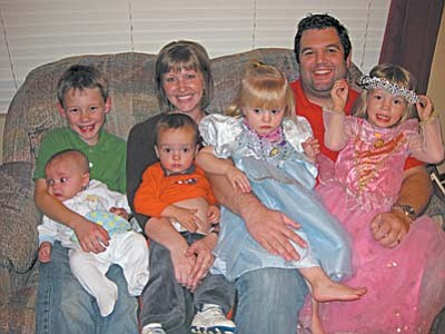 """Angela and Michael Clonts had been planning a family for years. Today, they are the parents of five children. """"To go from having no children to having four, and in another month, having five, is a drastic change, but definitely doable,"""" said Angela."""