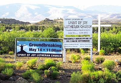 Spirit of Joy Lutheran Church will break ground Saturday at a permanent site in Clarkdale.