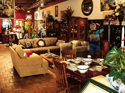 VVN/Philip Wright<br /><br /><!-- 1upcrlf2 -->Premiere Furniture in Old Town Cottonwood offers gently used furniture, antiques, collectibles and artworks.