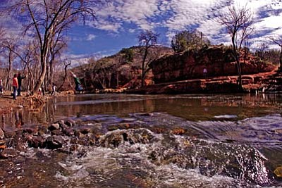 Beaver Creek offers an excellent established campground along side the stream and plenty of places to explore in the general vicinity.