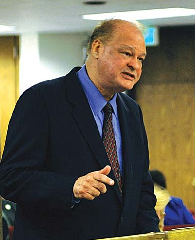"""Attorney General Tom Horne: """"I served 24 years on a school board. I used to say if you don't get sued at least twice a year by the ACLU, you're not doing your job.'"""