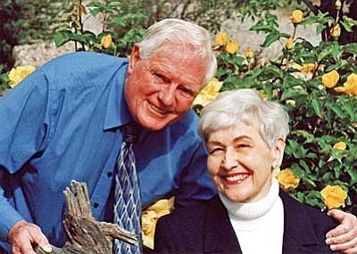Curt Ireland and his wife, Cynthia Strom.