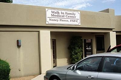 The Walk In Family Medical Center recently opened a medical practice at 813 Cove Parkway, suite 101, in Cottonwood. Nancy Pierce, F.N.P. is seeing patients age 10 and over.