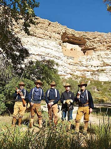 "Troop 1A of the Arizona Rough Riders Historical Association will present talks and demonstrations of living history on Saturday, Oct. 29, from 10 a.m. to 3 p.m. at Montezuma Castle National Monument. The special program honors the birthday and accomplishments of Theodore Roosevelt, leader of the ""Rough Riders"" and the nation's 26th resident."