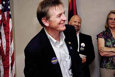 Gosar to address Mingus Mtn. GOP<br /><br /><!-- 1upcrlf2 -->Nov. 8<br /><br /><!-- 1upcrlf2 -->The featured speaker at the November Mingus Mountain Republican Club meeting will be Congressman Paul Gosar. Dr. Gosar will discuss the &#8220;Fast and Furious&#8221; scandal that is getting national publicity, border security problems, efforts by House Republicans to reduce spending, and other issues being discussed in Congress. Meetings are held at the VFW, 705 E. Aspen St., Cottonwood. Doors open at 11 a.m. and a lunch is available. Please call 639-4753 for more information and to make reservations.