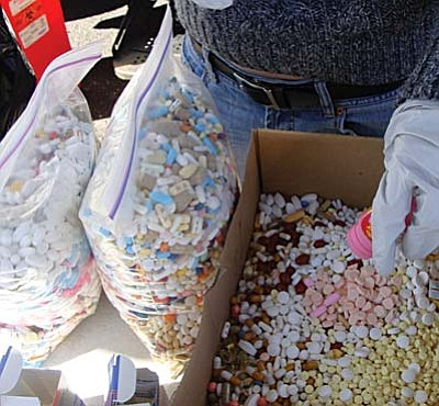 700 pounds of unwanted medications were collected and properly disposed during MATForce's Dump the Drug Event Oct. 29.