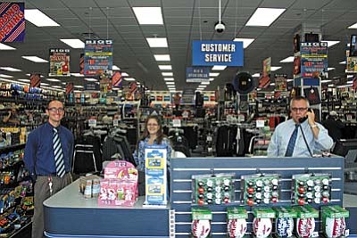 VVN/Philip Wright<br /><br /><!-- 1upcrlf2 -->Big Five Sporting Goods opened it newest store Veterans Day at 745 S. Main St. in Cottonwood. The store offers a full product line in a traditional sporting goods store format.