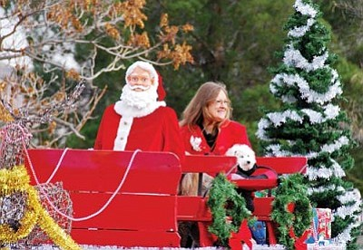 This year's Cottonwood Christmas Parade is Dec. 3 at 11 a.m.
