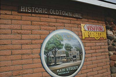VVN/Philip Wright<br /><br /><!-- 1upcrlf2 -->The Historic Old Town Jail building at 1101 N. Main St. in Cottonwood now serves as the Visitor Center for the Old Town Association.