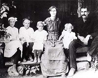 Mattie Purtymun outlived both of ex-husbands and four of her children.  (Photo courtesy of: Sedona Historical Society)