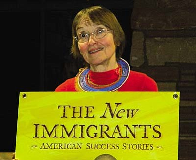 VVN/Jon Hutchinson<br /><br /><!-- 1upcrlf2 -->Anne Snowden Crosman gathered the stories of a wide array of recent immigrants to the United States.