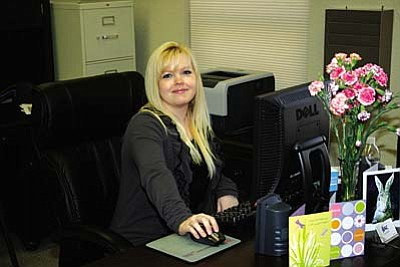 Andrea Harless is the business service representative for the Business Assistance Center in Old Town Cottonwood.