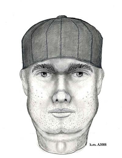 Yavapai County Sheriff's Office composite drawing of a man that Village of Oak Creek neighbors believe is a suspect in a string of burglaries.