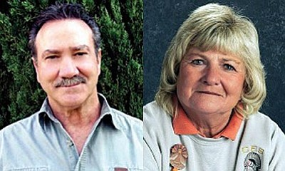 John Tavasci Jr. and Mary Valenzuela are among several school board members whose seats are up for election in November.