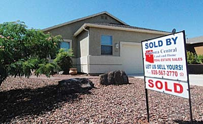 VVN/Steve Ayers<br /><br /><!-- 1upcrlf2 -->The inventory of homes for sale in the Verde Valley has dropped significantly over the last year, a major factor in a spurt of home sales and an approximate ten percent rise in their selling price.