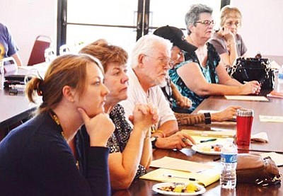 VVN/Jon Pelletier<br> The Verde Valley Homeless Coalition met Wednesday.