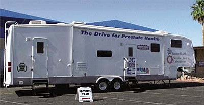 Prostate On-Site Projects to hold cancer screenings<br /><br /><!-- 1upcrlf2 -->Prostate On-Site Project, a medical mobile service, will be bringing an affordable prostate cancer screening to men, 40 years or older, or with a history of prostate cancer in their family. Space is limited so sign up early<br /><br /><!-- 1upcrlf2 -->Wednesday, Aug. 1, 11 a.m.-3 p.m., Verde Valley Medical Center, 460 Finnie Flat Road, Camp Verde.<br /><br /><!-- 1upcrlf2 -->Thursday, Aug. 2, 8 a.m.-1 p.m., Safeway, Store # 2052, 1635 E. Cottonwood Lane, Cottonwood.<br /><br /><!-- 1upcrlf2 -->Friday, Aug. 3, 8 a.m.–1 p.m., Safeway, Store #1207, 2300 W. Hwy 89A, Sedona <br /><br /><!-- 1upcrlf2 -->Appointments are required. Call (480) 964-3013 or 1-800-828-6139.