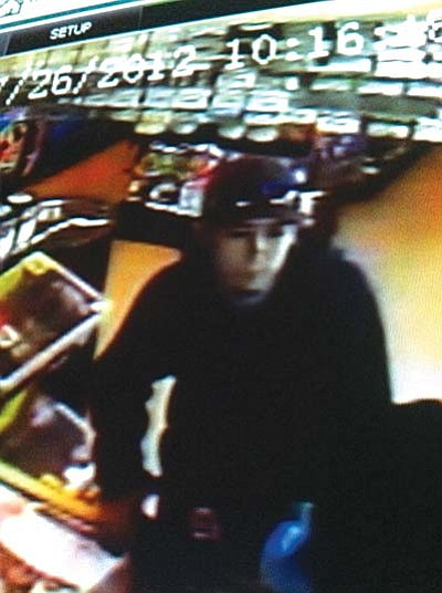 Coconino County Sheriff's deputies learned that the suspect entered the store while customers were inside, produced a handgun and told the clerk to give him all of the money. The man got cash from the register and from the wallets of two customers.