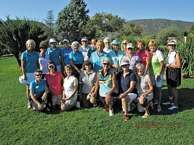 OCCWGA ladies having fun at the Interclub