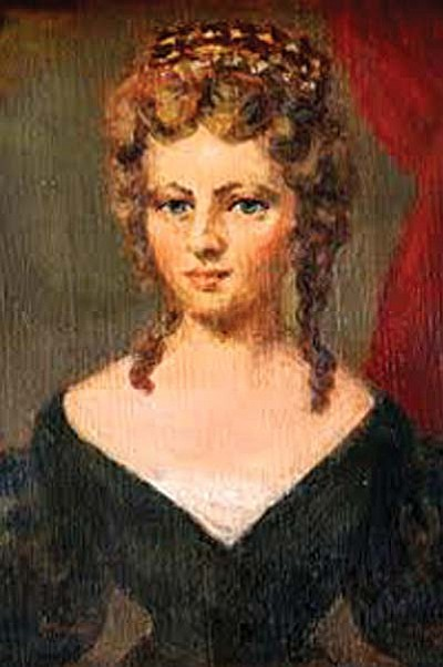 Linda's distant relative Lucia Elizabeth Balcombe, was said to have been more than friendly with Napoleon.