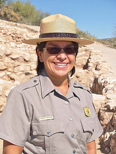 Dorothy FireCloud will be officially installed as superintendent of Montezuma Castle National Monument, Montezuma Well and Tuzigoot National Monument on Nov. 15, 1-3 p.m. The observance and open house will take place at Tuzigoot National Monument in Clarkdale. Photo by Diana Emery