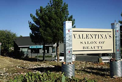 Valentina's Salon moved to its new location in October.