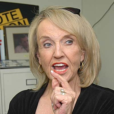 Jan Brewer, then secretary of state, succeeded Gov. Janet Napolitano in January 2009 when President Barack Obama tapped Napolitano to become secretary of homeland security. Brewer then defeated Democrat Terry Goddard in 2010 for a full term.