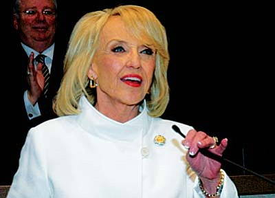 "Gov. Jan Brewer: ""The promise of border security was broken and Americans, especially in border states like mine, have been paying the price ever since,' she said in a prepared statement. ``We must not -- and will not -- let that happen again.'"