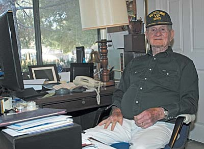 William Bowden at his home in Cottonwood. VVN/Philip Wright<br /><br /><!-- 1upcrlf2 -->
