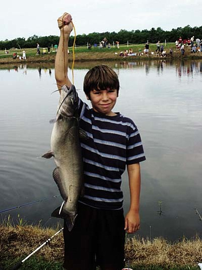Reel in fun at Catfish Contest<br /><br /><!-- 1upcrlf2 -->May 25-26<br /><br /><!-- 1upcrlf2 -->Sons of the American Legion (S.A.L.) Squadron 93 of Camp Verde is sponsoring its 30th annual Catfish Contest. The two-day tournament will have first, second and third prize for heaviest fish caught. You may fish anywhere in the Verde River. (The 2010 winner came in with a 25-pounder.)<br /><br /><!-- 1upcrlf2 -->Sign-in is Saturday at 9 a.m. at Post 93 at 286 S. Third St. Registration fee is $6. Weigh-in is Sunday at noon sharp at the post. For more information, call (928) 567-6154.