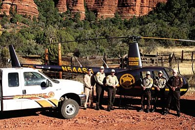 Search and Rescue in the Red Rocks<br /><br /><!-- 1upcrlf2 -->May 8<br /><br /><!-- 1upcrlf2 -->Please join Keep Sedona Beautiful at its Speaker Series on Wednesday to learn about the many details involved in search and rescue operations performed in the Sedona area. The evening will begin at 5:30 p.m., with complimentary offerings of appetizers donated by El Rincon Restaurante Mexicano and refreshments provided by KSB. The presentation will begin at 5:45 p.m. For more information about Keep Sedona Beautiful, please call (928) 282.4938, or visit http://www.keepsedonabeautiful.org/