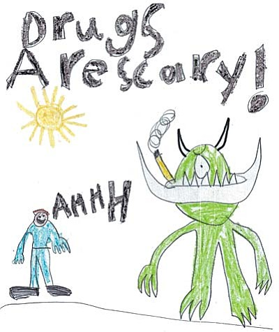 MATFORCE congratulates poster contest grand prize-winner Clay Bowers, a 6-year-old student from Dr. Daniel Bright Elementary School in Cottonwood.