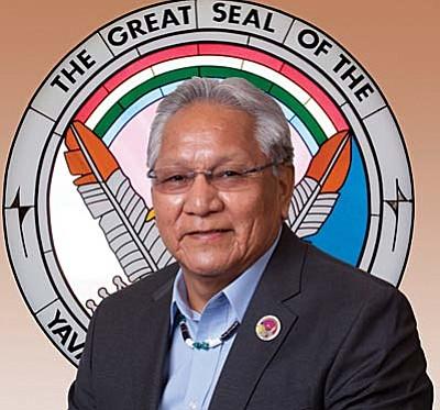 Robert Jackson Sr. is the vice chairman of the Yavapai-Apache Nation.