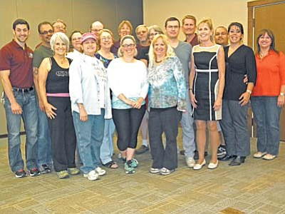 Competitors in the 4th season of Lookin' Good Cottonwood at the Cottonwood Recreation Center lost 1,900 pounds total. VVN/Jon Hutchinson
