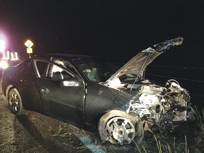 Car hits the wall near Jerome   The Verde Independent