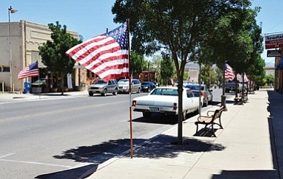 VVN file photo by Jon Pelletier<br> Clarkdale officials hope having the entertainment district overlay, similar to one approved earlier in Camp Verde, will encourage more businesses to come to downtown.