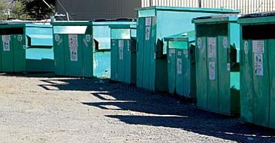 The City of Cottonwood will close down its Sixth Street recycling center and move the operation to the solid waste transfer station at the south end of Mingus Avenue.