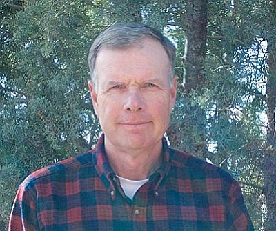 Friends of the Forest volunteer and naturalist Kevin Harding