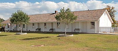 Constructed in stages between 1871-73, Fort Verde State Park was once known as Camp Verde. At 142 years of age, the Fort Verde State Park's administration building is now showing signs of age. VVN/Bill Helm