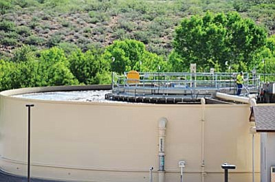 The new facility will produce 350,000 gallons of A+ effluent each day. VVN/Jon Pelletier