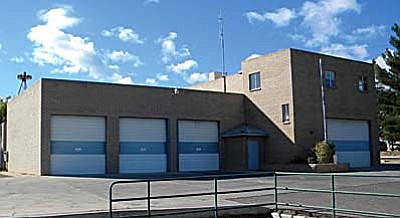 The old Cottonwood Fire Station will become the home of Cottonwood's Teen Center. VVN/Jon Hutchinson