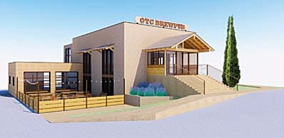 The former Cottonwood Parks and Recreation Center is beng proposed as a microbrewery and restaurant brewpub.