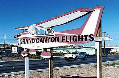 Air tour operators flew more than 55,000 trips over the Grand Canyon in 2012, making it a $2 million a year industry by one estimate. (Photo by Roadsidepictures via flickr/Creative Commons)
