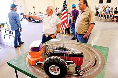 The Arizona Flywheelers Association this year is pulling out the stops for its 30th Engine and Tractor Show. VVN file photos by Jon Pelletier