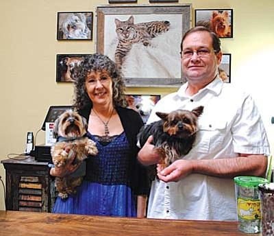 Denise and Steve Strong opened Pawz on Main as a pet boutique in Old Town Cottonwood.