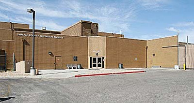 The current Camp Verde jail has 600 beds. The new jail would house 300 more and be open around 2019. VVN/Bill Helm