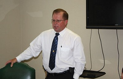 Cottonwood Police Chief Jody Fanning