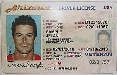 A federal court blocked Arizona's policy that denies driver's licenses to immigrants here under the federal Deferred Action for Childhood Arrivals policy, saying the state plan hurt DACA recipients and discriminated against them. (Photo courtesy the Arizona Department of Transportation)